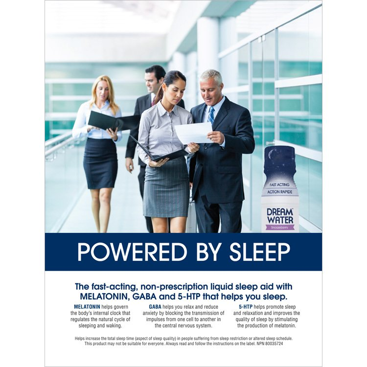 Dream Water Print Ad